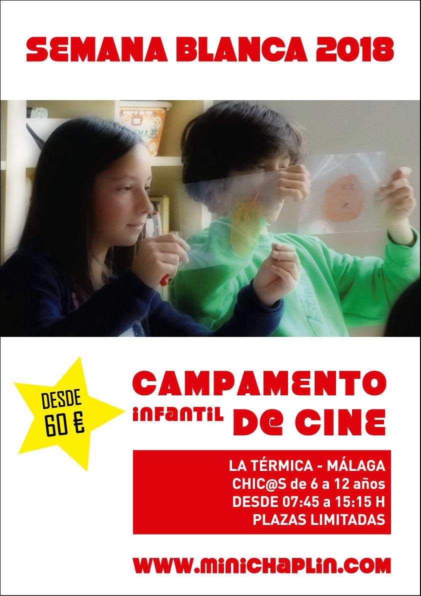 Campamento infantil de cine