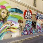 Calle con Grafiti © Área de Turismo